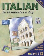 ITALIAN in 10 minutes a day, Kershul, Kristine K., Good Book
