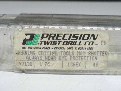 NEW SCREW EXTRACTOR 13//16 #8 - EZY-OUT PRECISION TWIST DRILL 97138-136EX