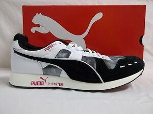 da Bianco Athletic Scarpe Nero Sneakers Rs100dd nuove 11 M uomo Size Puma qwRz74O