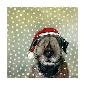 Alex Clark Woody Dog in Hat Pack of 5 Charity Christmas Cards 5060108700238  | eBay