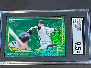 2013 Topps Update Emerald #265 Gerrit Cole RC SGC 9.5 Rookie Hot!!