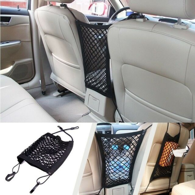 New Mesh Cargo Net Truck Storage Luggage Hooks Hanging Organizer Holder Seat Bag