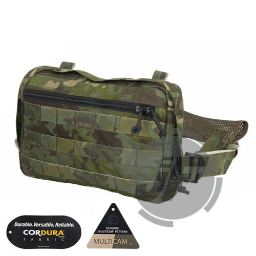Emerson Tactical Chest Recon Kit Bag Multi-Purpose Chest Rig Concealed Pouch