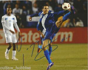 Guatemala-Marco-Pappa-Autographed-Signed-8x10-Photo-COA-C