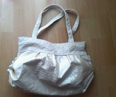 Handtasche, beige, ****NEU****