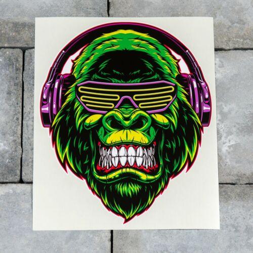 Decal Transfer Shutter Shades Gorrila Sticker Self Adhesive Vinyl