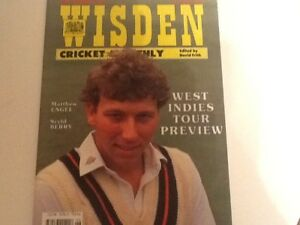 WISDEN-CRICKET-MONTHLY-JUNE-1991-SIGNED-BY-MIKE-ATHERTON-LANCASHIRE-ENGLAND