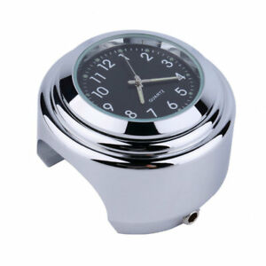 Universal-Motorcycle-Handlebar-Mount-Dial-Clock-Thermometer-Waterproof-G9A