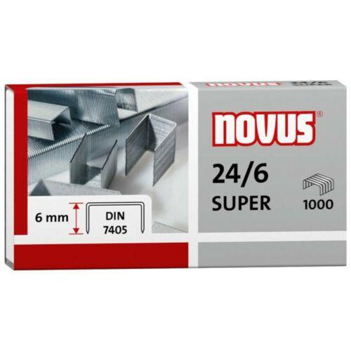verschiedene Größen und Mengen zur Auswahl Novus Heftklammern