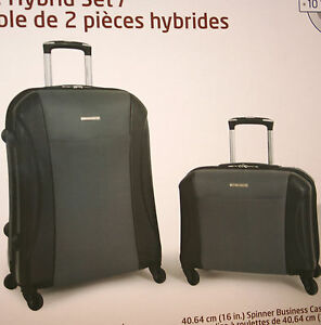 Samsonite 2-Piece Hybrid Set 4-Wheel Luggage 24
