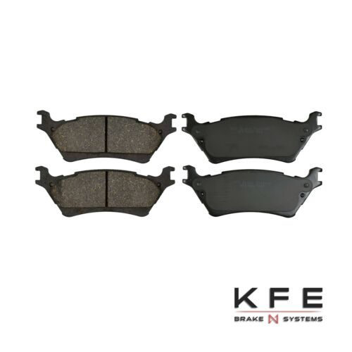 Premium Ceramic Disc Brake Pad FRONT REAR Fits 12-2014 Ford F-150 F150 1414-1602