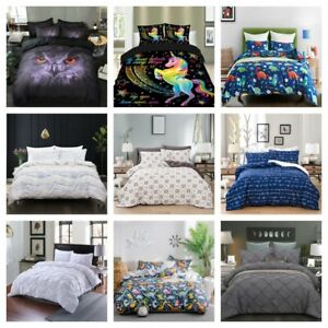 Ultra-Soft-Duvet-Cover-Set-for-Comforter-Pillow-Shams-Twin-Queen-King-Bedding-US