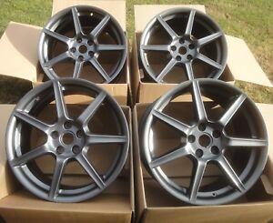 4-BRAND-NEW-19-034-GENUINE-Aston-Martin-FRONT-alloy-wheels-5x114pcd