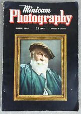 Minicam Photography March 1946 Magazine 146 Pages.