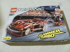 SEALED BRAND NEW IN BOX LEGO TECHNIC SLAMMER TURBO 8242 COMPLETE NIB 236 PCS SET