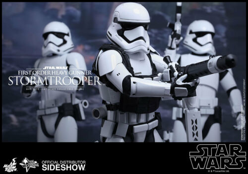 Hot Toys Star Wars Force Réveille de premier ordre Heavy Gunner Stormtrooper en Stock