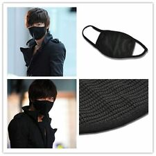 Cosplay Unisex Black Health spa Anti-Dust Cotton Mouth Face Mask Respirator