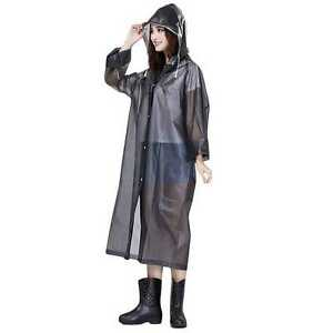 48e89c93475 Image is loading Womens-Girls-039-Raincoat-Waterproof-Poncho-Rain-Jacket-