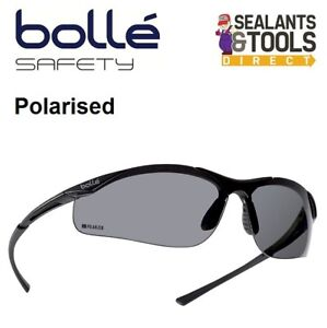 260df6acdb26 Image is loading Bolle-Contour-Safety-Glasses-Polarised-Sunglasses-Polaroid- Spectacles-