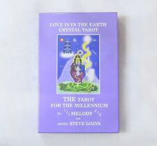 Love Is in the Earth - Crystal Tarot : The Tarot for the Millennium by A. Melody (2003, Paperback)