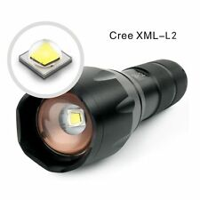 Zoombar Super Hell XM-L2 High Power 3800lm LED Taschenlampe Zoom Fokus Handlampe