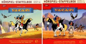 2-CDs-YAKARI-HORSPIEL-STAFFELBOX-1-1-1-2-FOLGE-1-52-mp3-IM-SET-NEU-OVP-amp