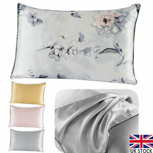 1pc PILLOW CASE 100/% COTTON SOFT LUXURY CASE HOUSEWIFE BEDROOM PILLOW COVER UK.