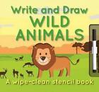 Write and Draw Wild Animals 9780764167119 by Elise See Tai Board Book