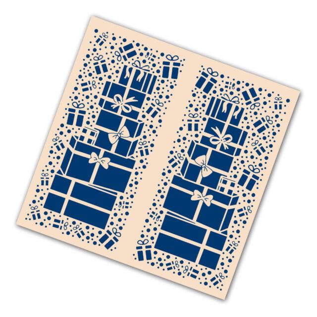 NEW Tattered Lace 'CHRISTMAS GIFTS' Gatefold Embossing Folder - EF166