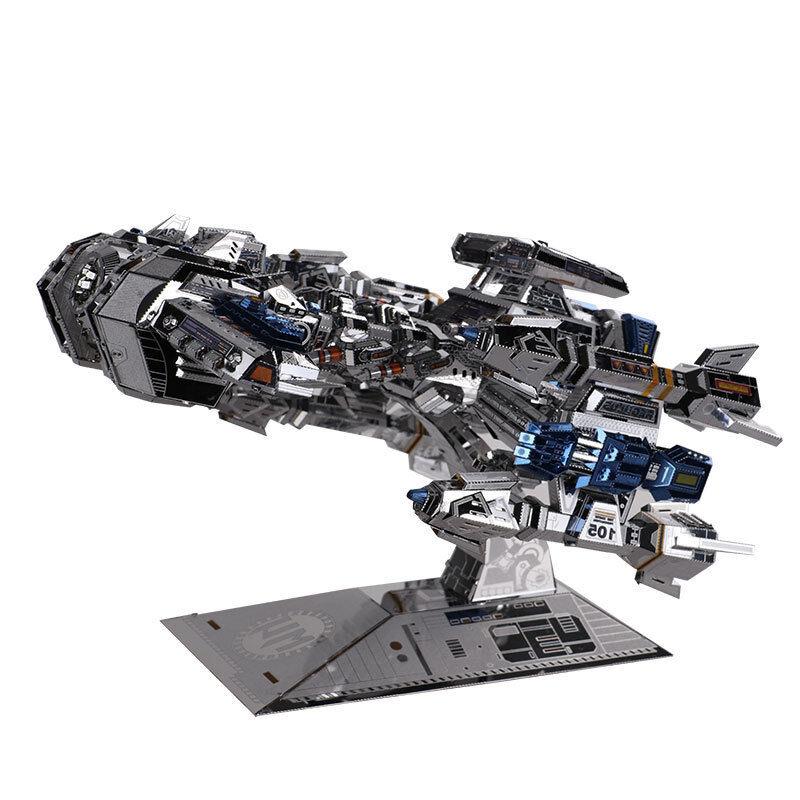 Nouveau MU 3D METAL PUZZLE Star Craft Terrien Couleuré Battle cruise Puzzle Toys