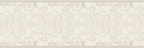 Versace Home Wallpaper 935471 Borte Bordüre cremeweiß beige Satin Barock Vlies