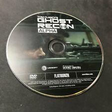 Tom Clancys Ghost Recon Alpha Dvd 2012 For Sale Online Ebay
