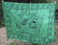 Sarong sarung Barong Verde Toni PAREO LAVA-LAVA fasciatoio Panno Indonesia Bali Nuovo