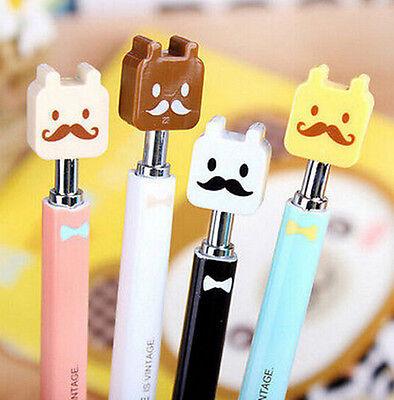 FD1357 Moustache Funny Stationery Creative Pen Ball Point Pen *Random Color* 1pc