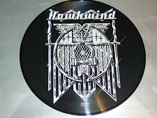 "7"" Picture - Hawkwind / Silver Machine & Seven by Seven - UK # 2551"