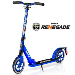 Hurtle-HURTSBU-Lightweight-and-Foldable-Kick-Scooter-with-High-Impact-Wheels