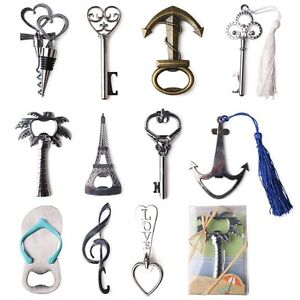 Eiffel-Tower-amp-Key-Shaped-Bottle-Opener-Keyring-Metal-Bar-Beer-Novelty-Gift-Tool