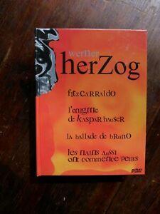 Rare-Coffret-5-DVD-WERNER-HERZOG-Fitzcarraldo-Kaspar-Hauser-La-Ballade-de-Bruno