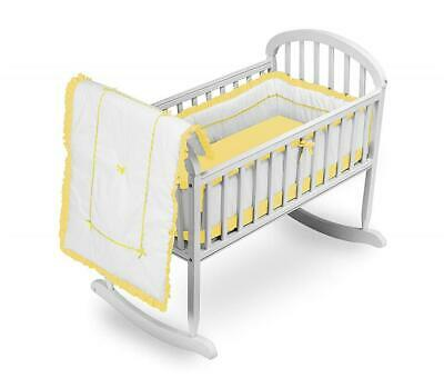 Discontinued by Manufacturer Baby Doll Bedding Gingham Cradle Bedding Set Red