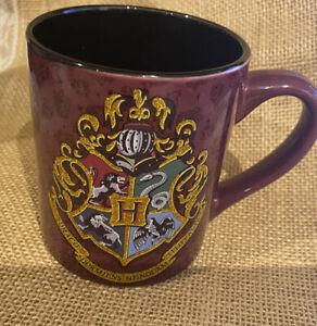 Harry Potter Hogwarts Glitter Crest 14oz Ceramic Mug