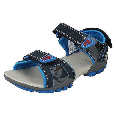 Boys Clarks Open Toe Sandals - Zalmo Go