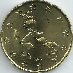 Italien 20 Cent Kursmünze 2002 2018 Unzirkuliertbankfrisch Ebay