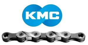 114 Glieder 1//2x11//128 in grau KMC Fahrrad Kette X-9 9-fach