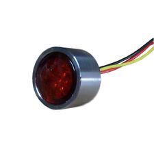 MINI ROSSA LED luce 20 mm con einschweiß chassis Moto Luce del freno