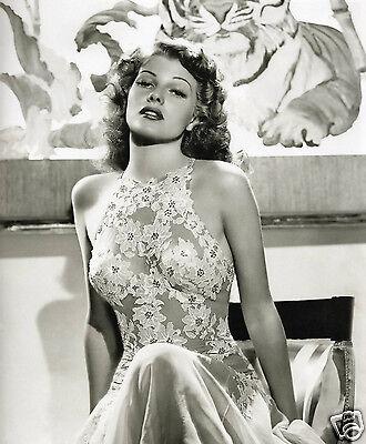 Rita Hayworth 8x10 Classic Beauty Photo #1