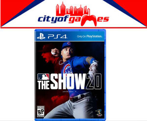 MLB-The-Show-20-PS4-Game-Brand-New-amp-Sealed-In-Stock