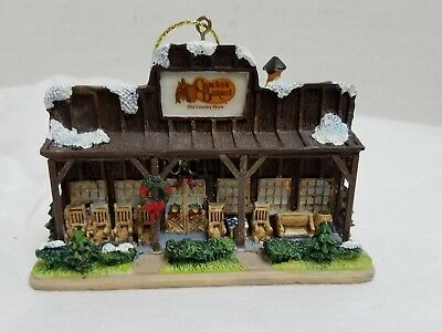 Cracker Barrel Old Country Store Christmas Tree Holiday  Ornament 2005 Porch