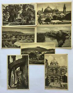 Union Postale Palestine Oriental Commercial Bureau Port Said postcards 1930s (8)
