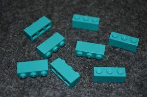 1x3 Green Standard Bricks ~ Lego  ~ NEW ~ Castle 10