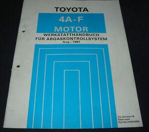 Werkstatthandbuch-4A-FE-Motor-Toyota-Corolla-Abgaskontrollsystem-Stand-08-1987